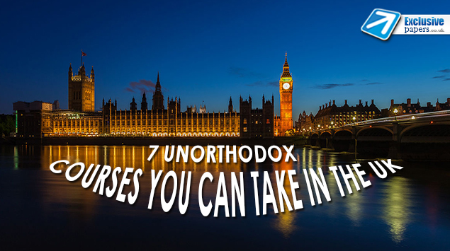 7 Unorthodox Courses You Can Take in the UK
