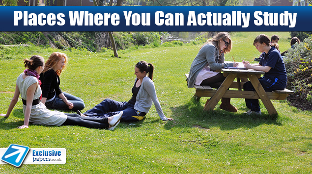 Places Where You Can Actually Study