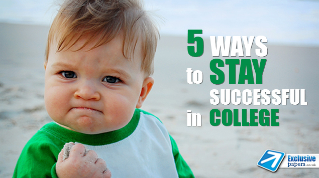 5 Ways to Stay Successful in College