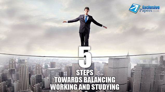 5 Steps towards Balancing Working and Studying