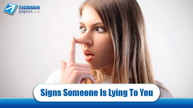 Evident Signs Someone Is Lying