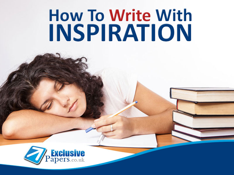 How to find inspiration for writing
