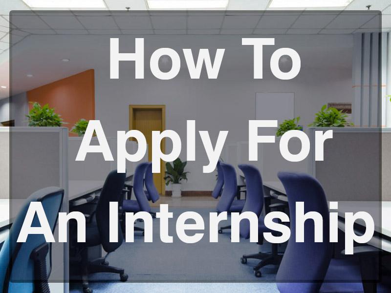 Applying for an Internship