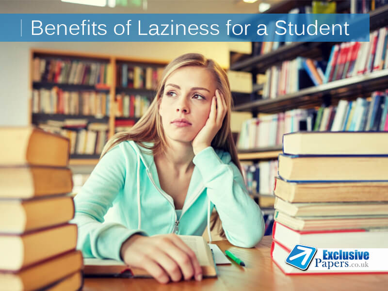 How to Benefit from Laziness at Home, Work and College
