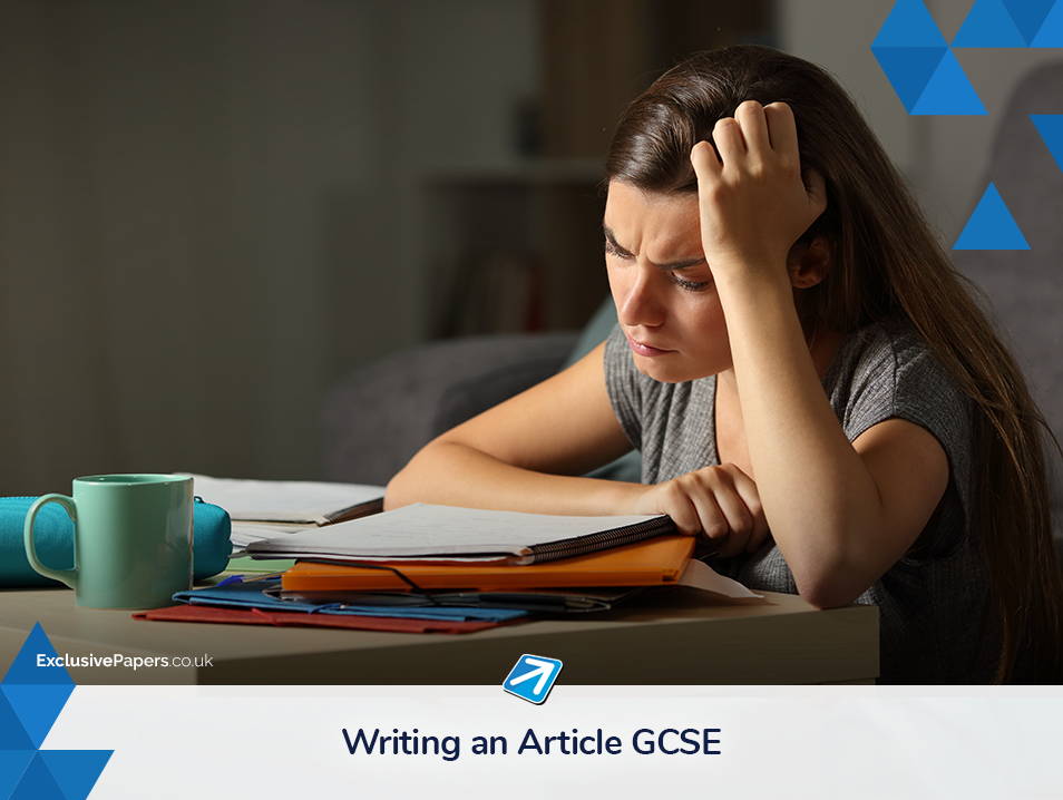Writing an Article GCSE Exam