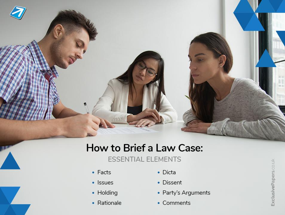 Essential Elements on How to Brief a Law Case