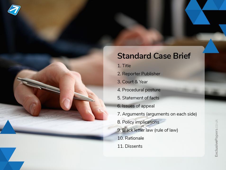 Standard Case Brief