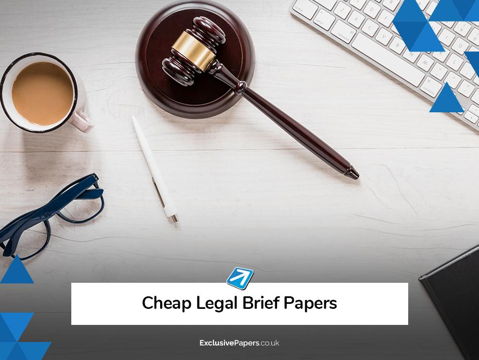 Cheap Legal Brief Papers