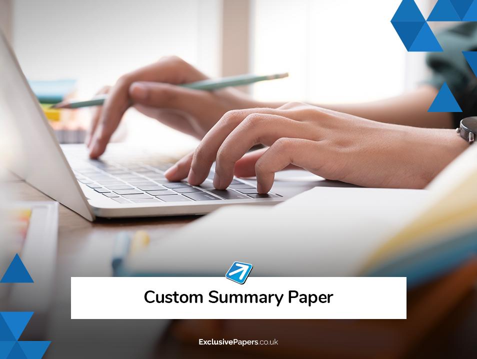 Custom Summary Paper UK