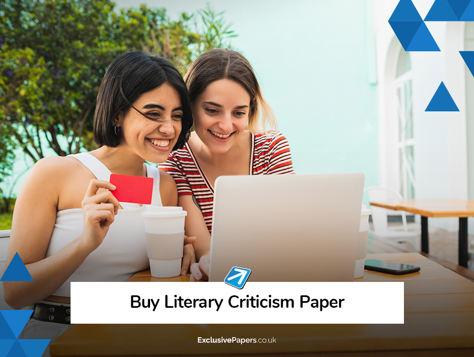 Buy Literary Criticism Paper